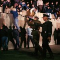 Reimagining fall of Berlin Wall - East German border guards open fire on crowds