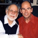 Ron Kovic, Vietnam Veteran, anti-war activist and author of 'Born on the Fourth of July' with director Robert Stone