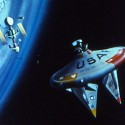US Air Force animation depicting future of space warfare - X-20 space plane - 1962