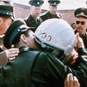 Soviet Cosmonaut Yuri Gagarin arrives home 1961
