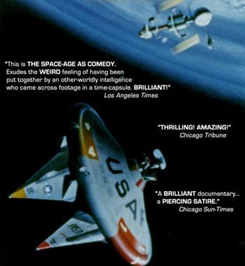 Satellite Sky Poster