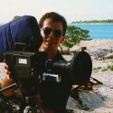 On location on Bikini Island 1986